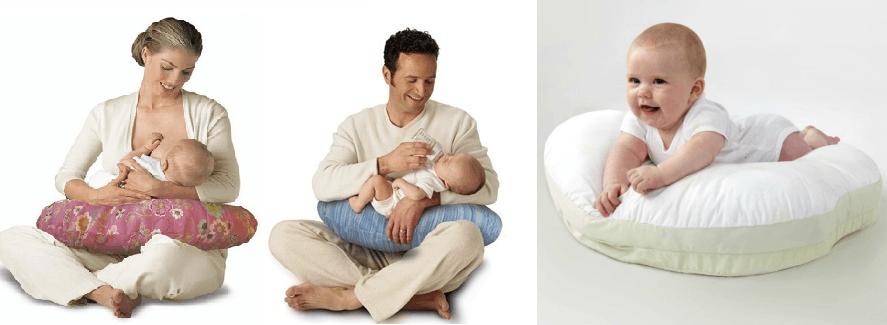 almohadas para lactancia maderna