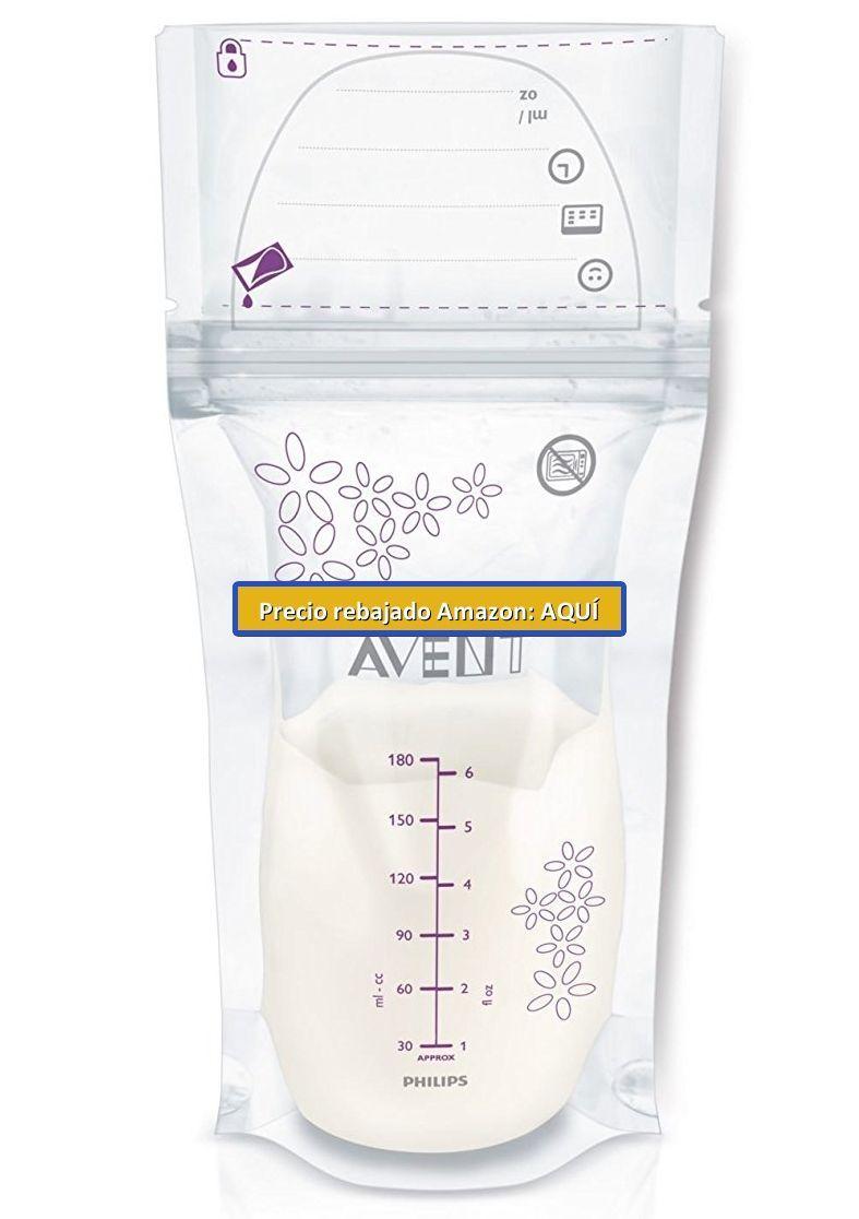 bolsas de plastico para congelar la leche de la lactancia